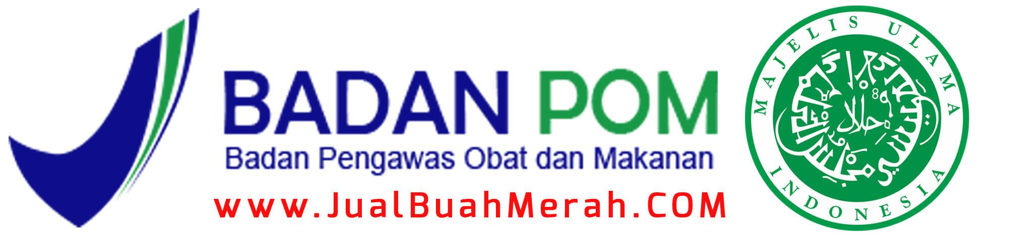 Logo MUI dan BPOM Buah Merah